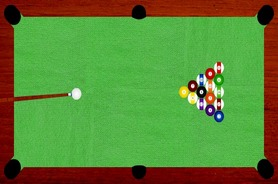 Billiard-ball-game