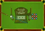 Piraten-spiel-billard