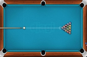 Billiard-spiel-in-solo