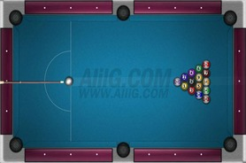 American-billiard-game-speed-​​pool-challenge