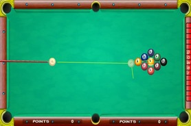 Billiard-game-in-solo-or-two