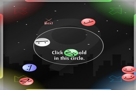 Billiards-game-with-smilies-in-space