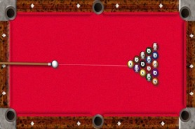 Flash-game-billiards-american-online
