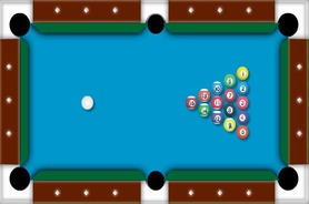 Amerika-virtual-billiard-permainan