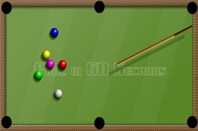 Billiards-flash-cluiche