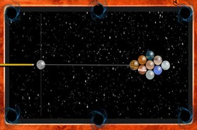 Galactic-snooker-game