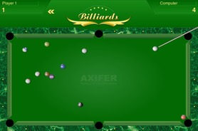 Multiplayer-biljart-spel